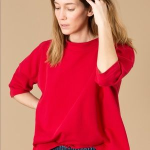 UPDATED 💫Ilana kohn barby shirt in red